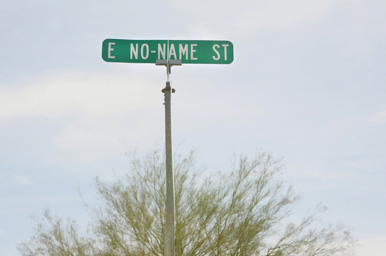 east no name street